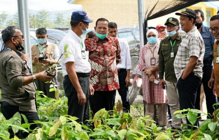 Apresiasi Karya Siswa SMK Al Gazali, Irjen Pertanian Akan Bantu Alsintan Praktikum Pertanian