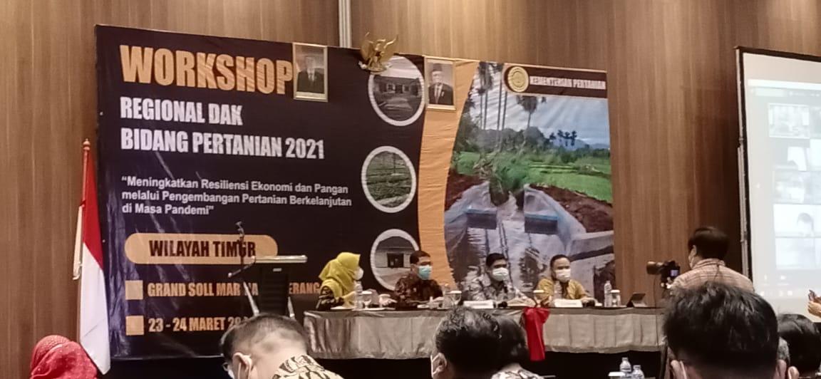 Kadis Pertanian Luwu di Tangerang, Ikuti Workshop Percepatan Realisasi DAK